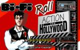 Bi-Fi Roll: Action in Hollywood DOS Title Animation