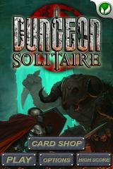Dungeon Solitaire iPhone Title Screen