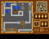 Prospector in the Mazes of Xor Amiga Center of the first maze