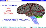Mind Walker Amiga Title screen