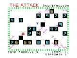 The Attack TI-99/4A Gameplay; shoot the alien spores!