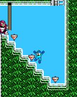 Mega Man 3 J2ME Top Man's stage