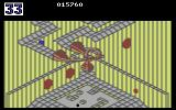 Marble Madness Commodore 64 About to fall off of the edge