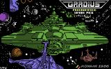 Gradius Commodore 64 U.S. release is called Gradius