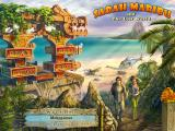 Sarah Maribu and the Lost World Windows Main menu