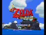 The Legend of Zelda: The Wind Waker GameCube Title Screen