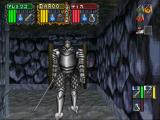 Dungeon Master Nexus SEGA Saturn a knight
