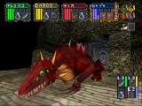 Dungeon Master Nexus SEGA Saturn a red dragon