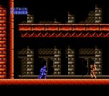 Batman: The Video Game NES Starting the game.