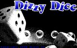 Dizzy Dice DOS Title screen