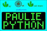 Paulie Python Windows 3.x Title screen