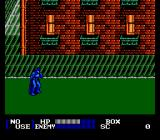 Batman Returns NES Starting the game