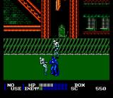 Batman Returns NES Fighting two pesky fellows