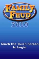 Family Feud: 2010 Edition Nintendo DS Title screen.