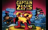 Captain Zins DOS Title Screen