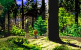 Call of Cthulhu: Shadow of the Comet DOS A walk in the woods