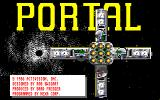 Portal Amiga Title screen