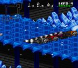 Rock n' Roll Racing SNES The ice planet NHO