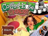 Coffeehouse Chaos! Windows Title Screen