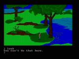 King's Quest PC Booter Exploring (CGA composite mode)