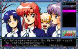 Tenshitachi no Gogo 3: Bangai-hen PC-98 Girls with weird hair colors