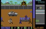 Operation Wolf Commodore 64 A game in progress