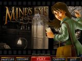Mind's Eye: Secrets of the Forgotten Windows Main menu