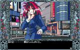 Tenshitachi no Gogo: Tenkōsei PC-98 City center. Meeting a pretty girl