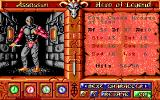 Worlds of Legend: Son of the Empire DOS Setting up the characters (EGA)