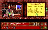 Worlds of Legend: Son of the Empire DOS Starting the game (EGA)