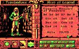 Worlds of Legend: Son of the Empire DOS Setting up characters... (CGA)