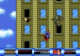 Superman Genesis Flying to the top of the building