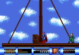 Superman Genesis A boss battle at the top of the building