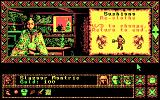 Worlds of Legend: Son of the Empire DOS The start of the game (CGA)