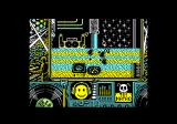 Toi Acid Game Amstrad CPC I was hit by an enemy and died.
