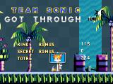 Open Sonic the Hedgehog Windows End of the tutorial stage