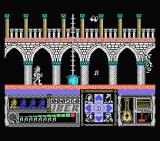 Casanova MSX I have shot a musical note at an enemy and a ladder has appeared from a magic pot.