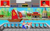 Thai Boxing Amiga Level 1 - High punch and low kick