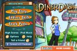 Diner Dash iPhone Title screen