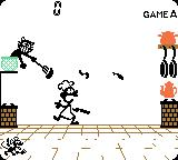 Game & Watch Gallery 2 Game Boy Color Game - Chef: Classic style