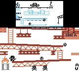 Game & Watch Gallery 2 Game Boy Color Game - Donkey Kong: Classic style