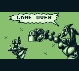 Bamse Game Boy I lost all my lives. Game over.