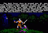 Ultima V: Warriors of Destiny Apple II Intro 4 - Same scene as the box cover