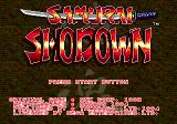 Samurai Shodown Genesis Title Screen