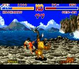 Samurai Shodown SNES Gen-An Attacks!
