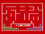 "Take the Money and Run! Odyssey 2 Starting a game, an ""Income"" maze."