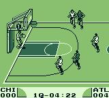 Double Dribble Game Boy Throwing the ball back in