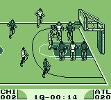 Double Dribble Game Boy I was fouled so I'm taking a free shot