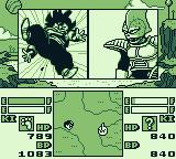 Dragon Ball Z: Gokū Gekitōden Game Boy He hit me.