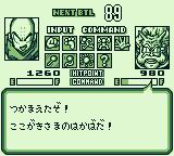 Dragon Ball Z: Gokū Gekitōden Game Boy The other player gets ready to throw down.